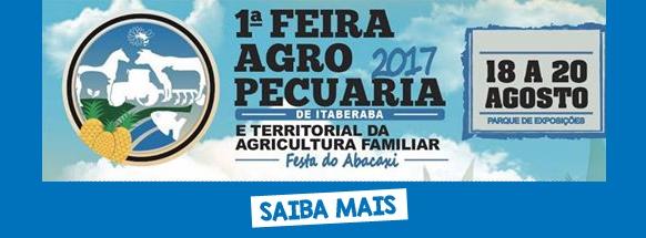 I Feira Agropecuária de Itaberaba e Territorial da Agricultura Familiar