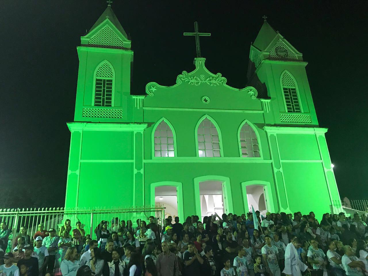 Deputado Pablo Barrozo prestigia festa da padroeira de Rio Real