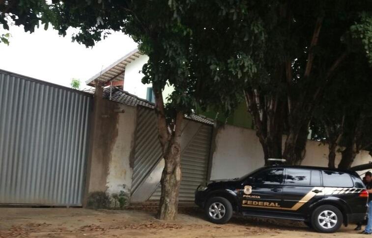 PF realiza operação em endereços de Itaberaba
