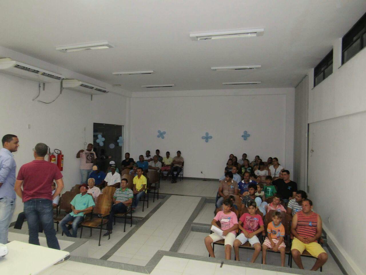 Novembro Azul tem exames e palestras em Boa Vista do Tupim