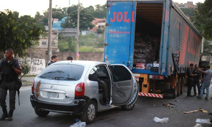 Polícia do DF prende 13 suspeitos de integrar quadrilha de roubo de carga na BA