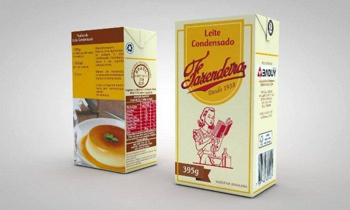 Lote de leite condensado é proibido pela Anvisa