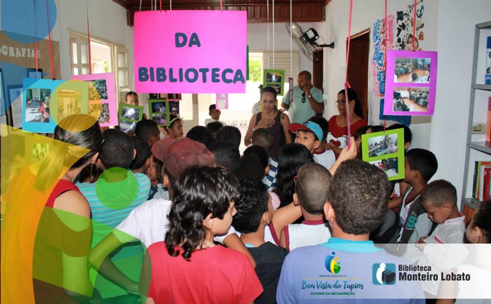 Biblioteca Monteiro Lobato comemora seu primeiro ano de funcionamento