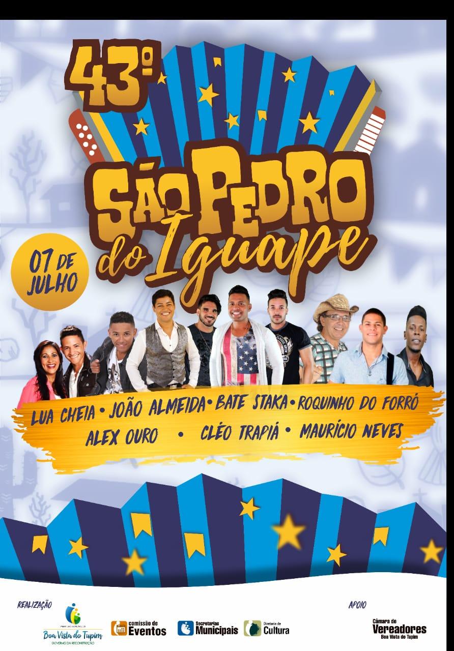 São Pedro do Iguape: confira as atrações da festa que acontece no dia 07/07