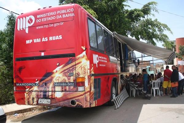 """Ministério Público vai a Boa Vista do Tupim  para realizar atendimentos dos projetos """"Paternidade Responsável"""" e """"O MP Vai às Ruas"""""""