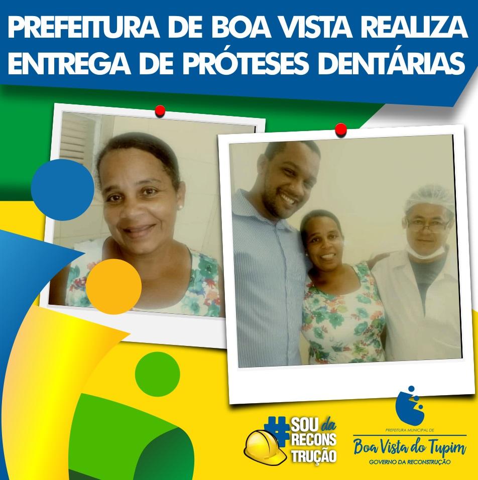 Prefeitura de Boa Vista do Tupim oferece serviço gratuito de prótese dentária