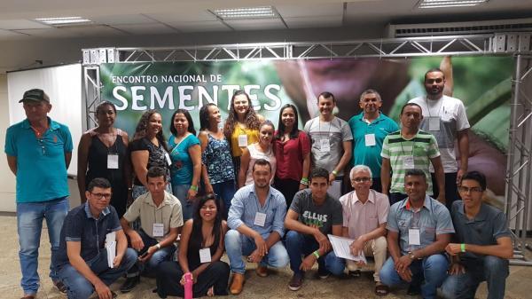 Secretária de Agricultura de Boa Vista do Tupim participa de Encontro Nacional de Sementes em Maceió - AL