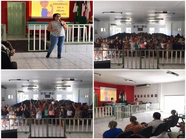 Palestra sobre empoderamento feminino marca comemorações do Mês da Mulher