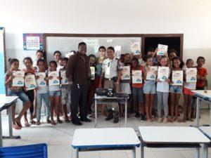 Proerd retoma atividades nas escolas municipais de Boa Vista do Tupim.
