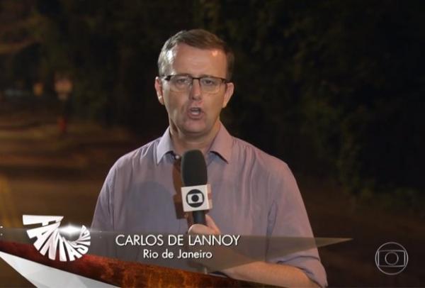 """Família de jornalista da Globo é ameaçada de morte após matéria do """"Fantástico""""."""