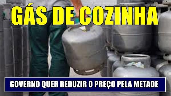 Governo quer reduzir 50% o preço do gás de cozinha;diz Paulo Guedes.