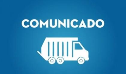 Prefeitura de Boa Vista do Tupim informa: Serviço de Coleta de Lixo não será realizado na Sexta-Feira da Paixão