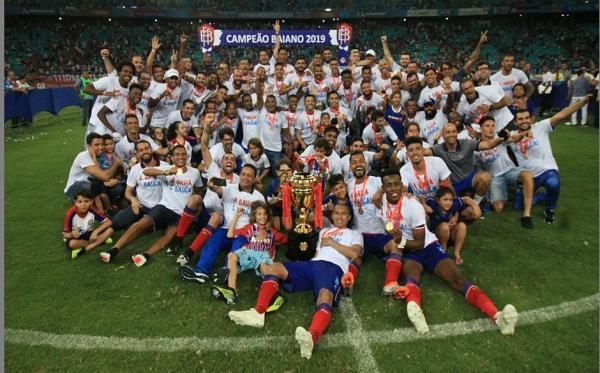 Bahia é o segundo maior campeão estadual do país.