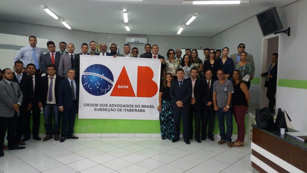 OAB, Prefeito e Vereadores se unem contra fechamento do Fórum de Iaçu