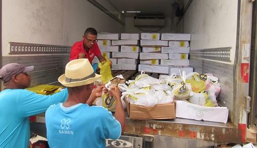 Prefeitura distribuiu 4000 toneladas de peixe para os tupinenses