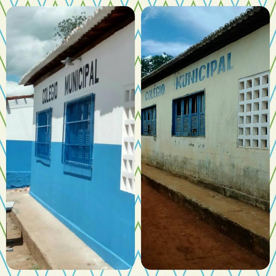 Prefeitura reforma Escola do Povoado Bom Jesus