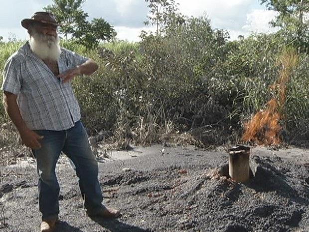 Técnicos analisam poços para provar existência de campo de gás natural na Chapada
