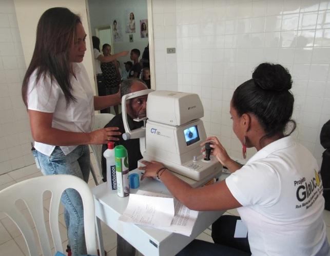 Mutirão gratuito contra o glaucoma e catarata atende mais de 500 pessoas em Boa Vista do Tupim