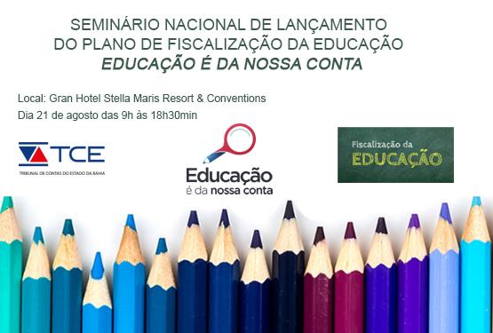 TCM e TCE apresentam plano de ação voltada para a fiscalização dos gastos em Educação nas Prefeituras
