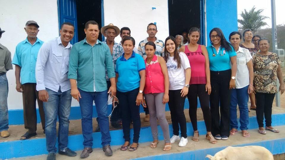 Secretaria de Saúde realiza atendimento na região de Piabas em Boa Vista do Tupim