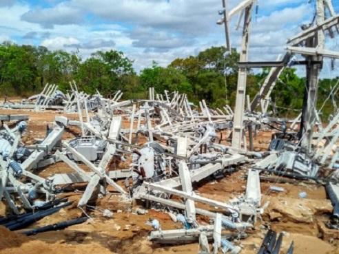 Fazenda destruída por integrantes do MST e outras entidades