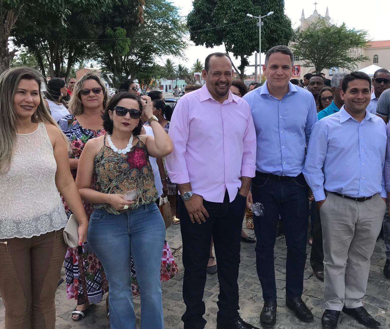 Pablo Barrozo participa de comemorações em homenagem ao aniversário de Acajutiba