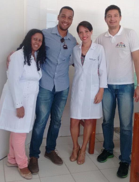 Secretário Gustavo Mendes, comemora o credenciamento do NASF em Boa Vista do Tupim