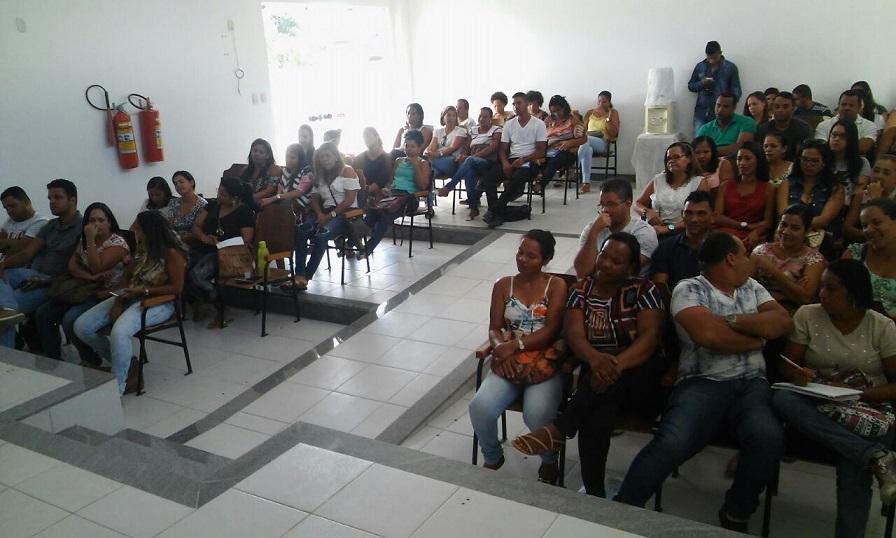 reunião no auditorio