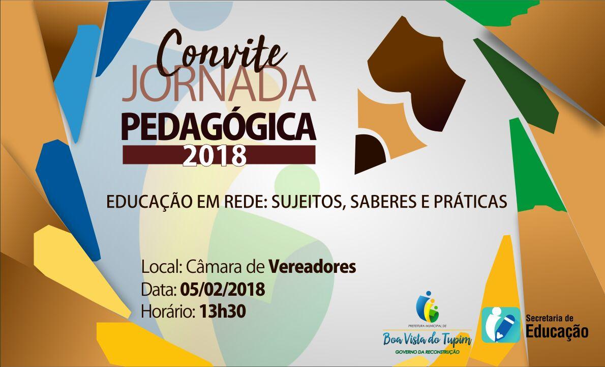 Boa Vista do Tupim realiza jornada pedagógica na próxima segunda (05)
