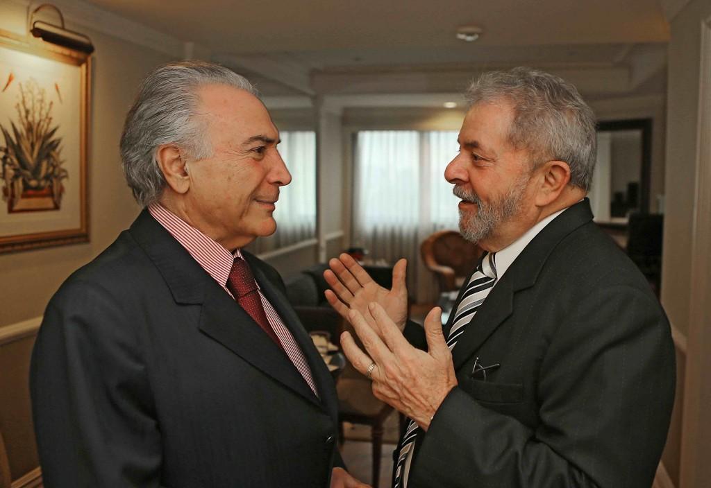 Em entrevista Lula diz que Temer sofreu tentativa de golpe da Globo, de Janot e dos irmãos Batista