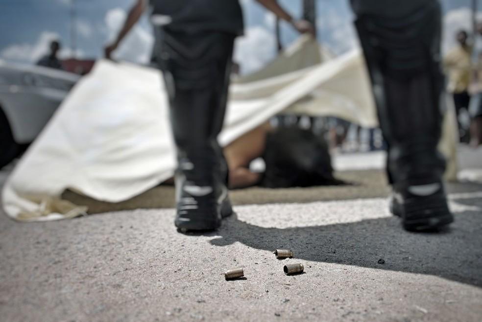 A Bahia ocupa a primeira colocação em crimes violentos