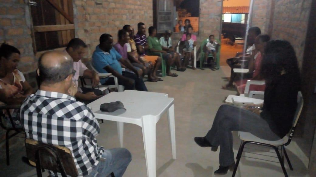 Secretário de Agricultura reúne-se com comunidades da zona rural