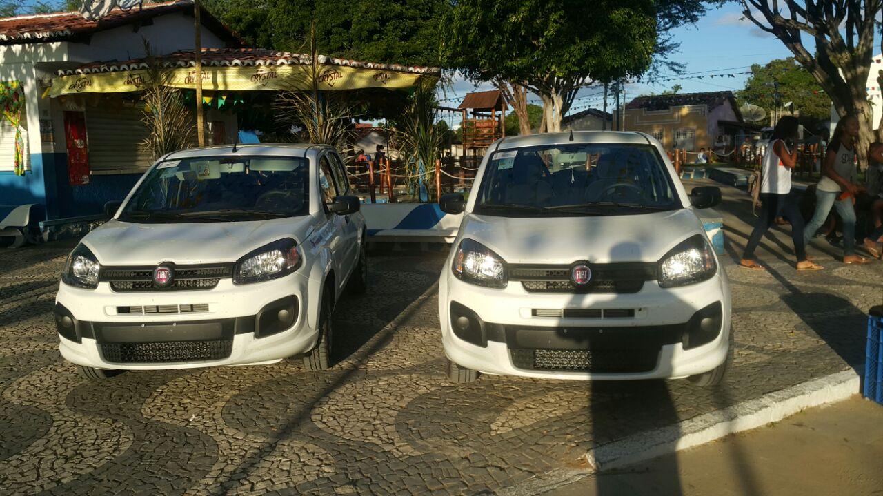 Secretaria recebe dois veículos novos para fortalecer a Assistência Social em Boa Vista do Tupim