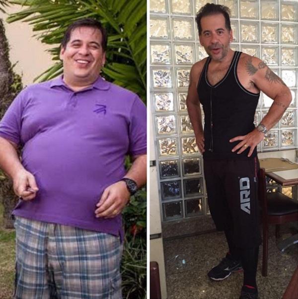 Musculoso, Leandro Hassum mostra braço com veias saltadas e fã comenta: