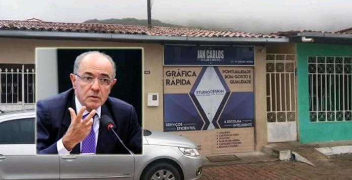 Deputado denuncia fraude em contrato de aluguel da Prefeitura de Mucugê, em imóvel que funcionava gráfica