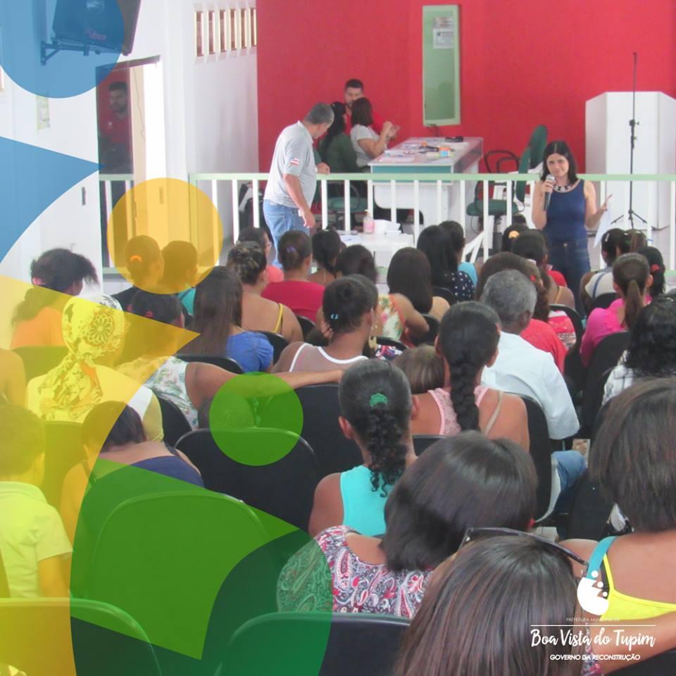 Projeto Paternidade Responsável do MP-BA realiza palestra em Boa Vista do Tupim
