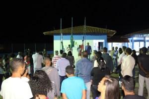 Prefeito de Boa Vista do Tupim inaugura escola na Vila Beija Flor