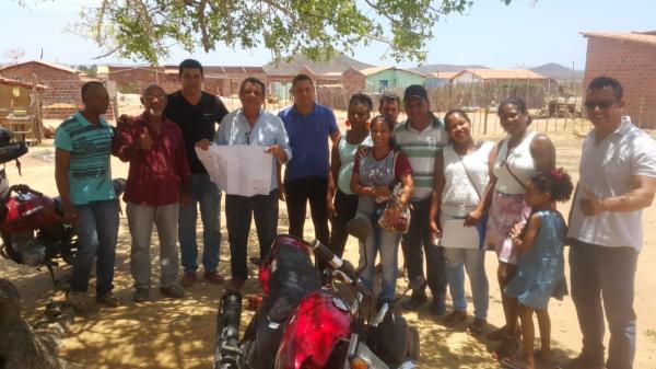 Prefeito e os Vereadores Savinho, Derneval, Cal e Neto do MST visitam Campo Alegre para ouvir a comunidade