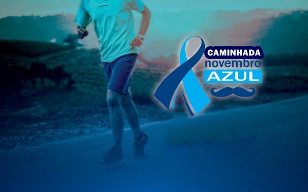 Novembro Azul: caminhada para destacar importância da prevenção do câncer de prostáta acontece na segunda (19) em Boa Vista do Tupim