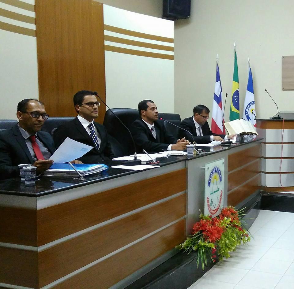 Vereador José Antonio abre os trabalhos legislativos da Câmara Municipal de Itaberaba para 2017