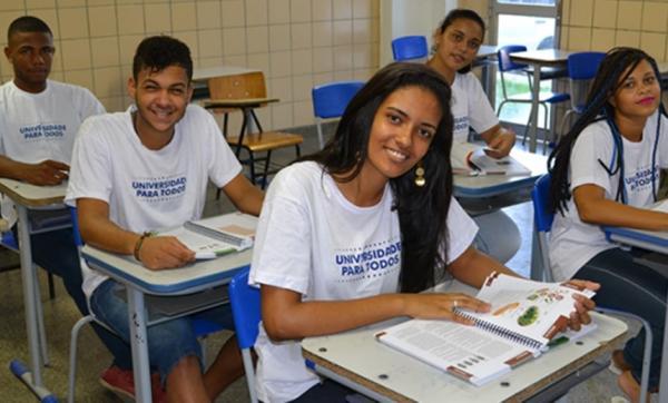 Universidade Para Todos abre inscrições na próxima terça-feira (23).