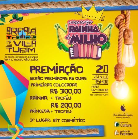 Participe do Concurso Rainha do Milho 2019 em Boa Vista do Tupim