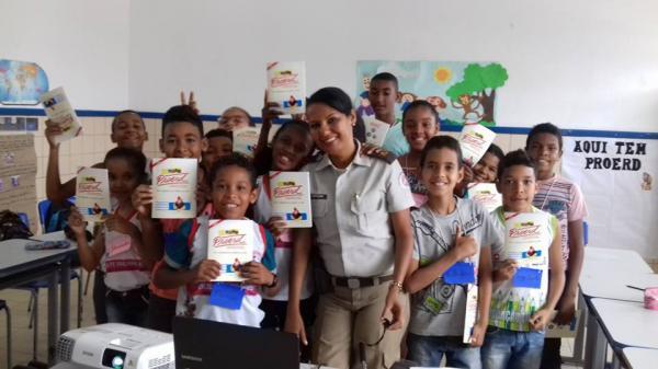 Policia Militar e Prefeitura proporciona o projeto PROERD
