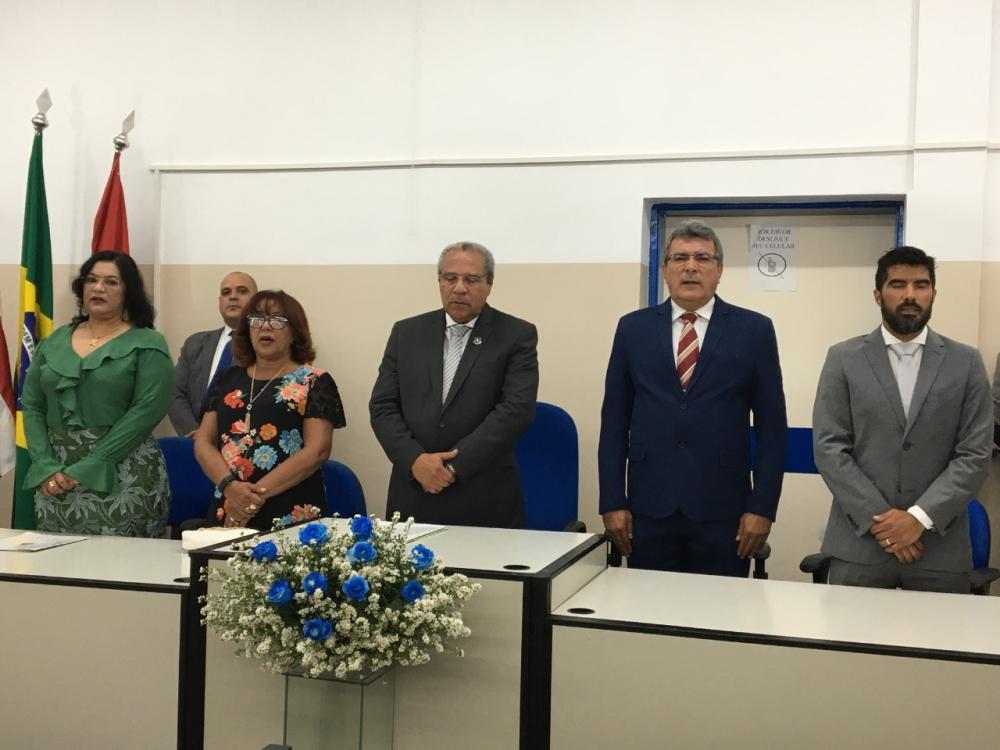 Presidente do TJ-BA e Prefeito Adelson Oliveira