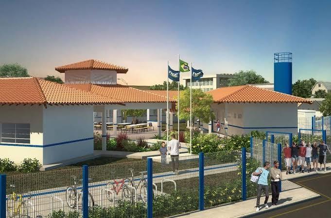Nova escola que será construida