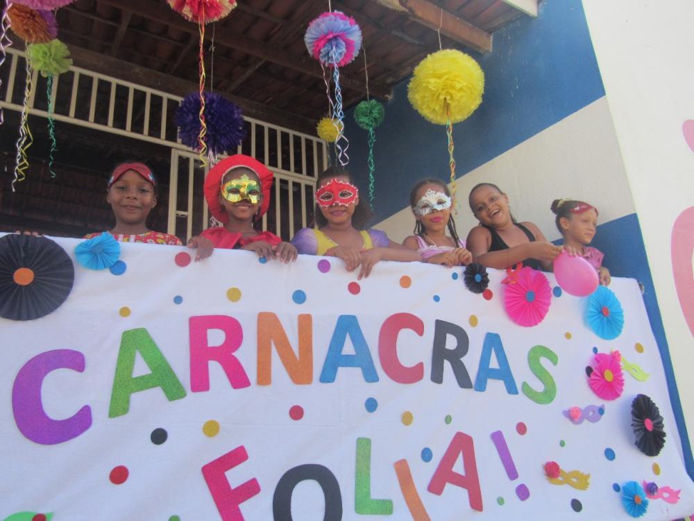 CRAS de Boa Vista do Tupim realizou Carnaval para usuários do sistema