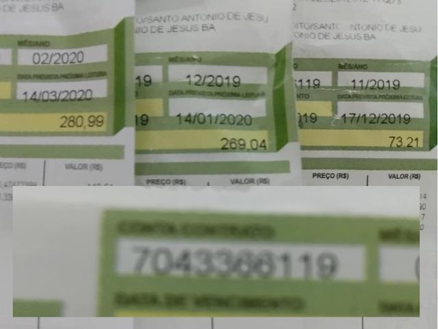 Moradores suspeitam que medidores da COELBA estão adulterados devido ao aumento absurdo nas contas de energia